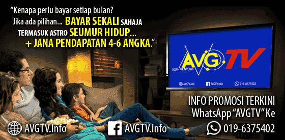 AVGTV | Tonton TV Dapat Duit